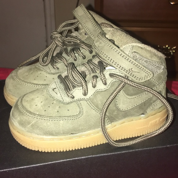 Nike Shoes | Army Green Air Force Ones